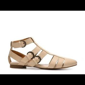 Mix No. 6 Shoes - MIX NO 6 | Nude Flats Size 7
